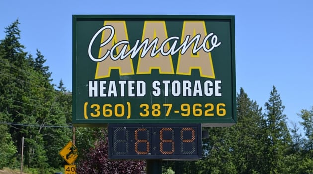 Exceptionnel AAA Camano Heated Storage In Camano Island, WA ...
