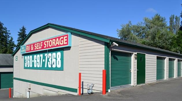 Convenient Drive Up Storage Units In Poulsbo Wa