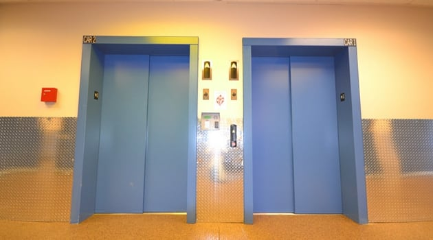... Large Elevators At Our Lynnwood, WA Self Storage Facility; Sound ...