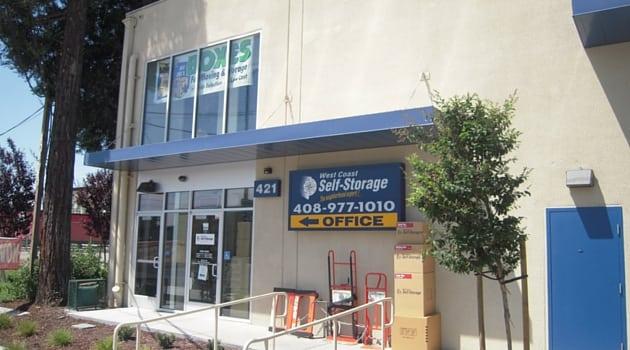 Rent Storage in San Jose, CA 95126 - West Coast Self-Storage San jose