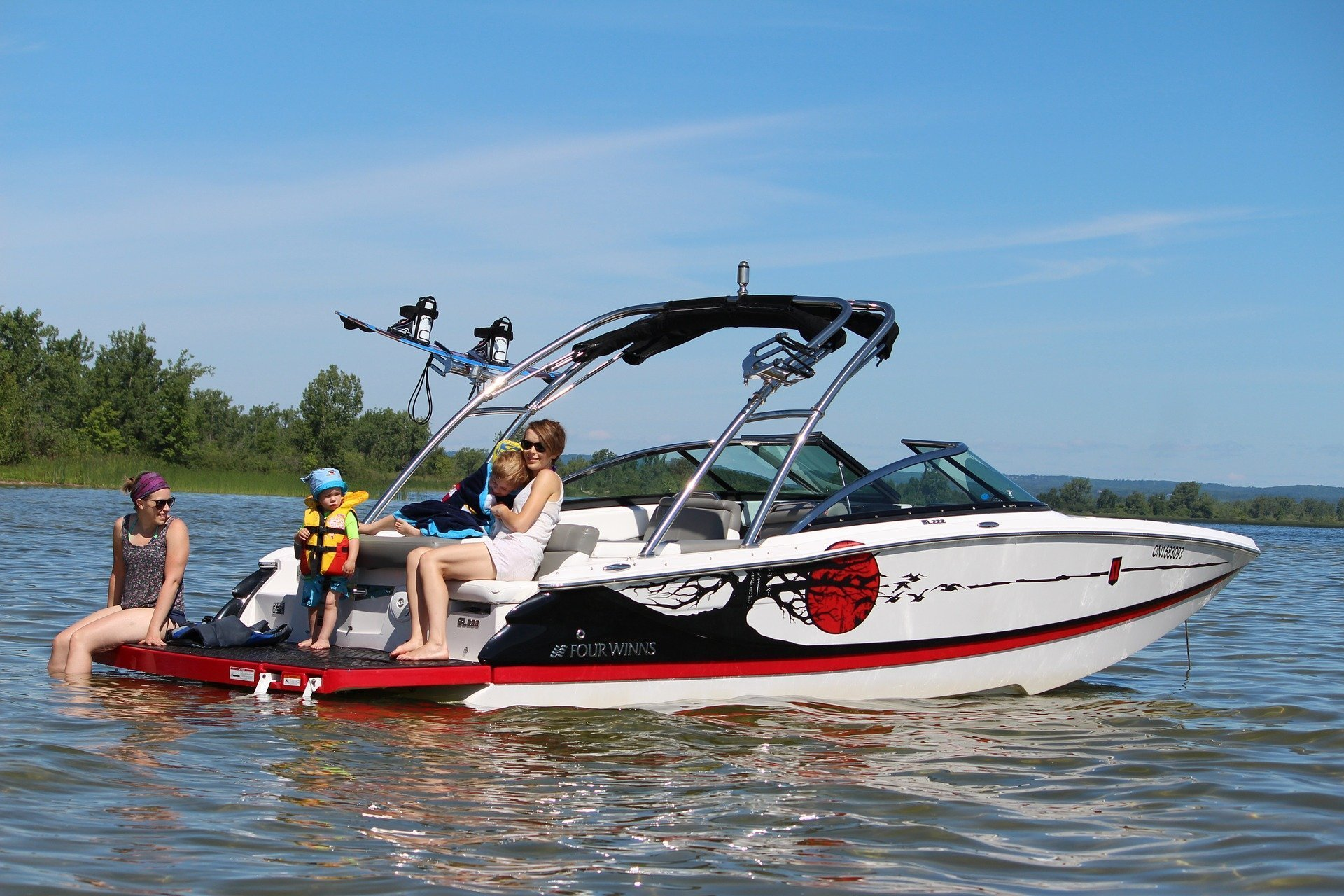 Where should you store your boat west coast self storage for Boat garage on water