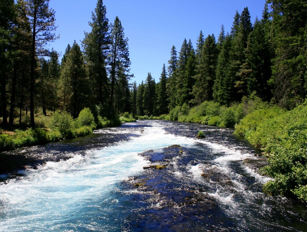 central oregon campgrounds with hookups