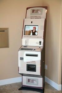 Self Service Kiosk At Broadmoor Storage Solutions In Pasco Wa