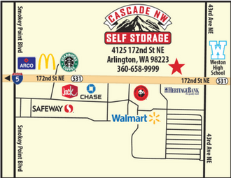 Storage In Arlington Wa Near Smokey Point Cascade Nw