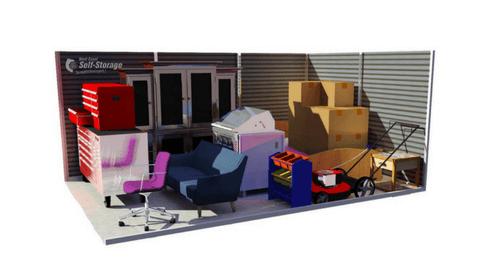 10u0027 x 15u0027 Storage Unit  sc 1 st  West Coast Self-Storage & Self Storage in Lacey WA 98513 - College Point Storage