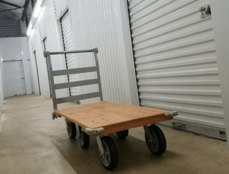Convenient moving carts at our Kent Wa Storage Facility & Kent Storage - West Coast Self-Storage Kent