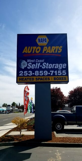 Get Started & Kent Storage - West Coast Self-Storage Kent
