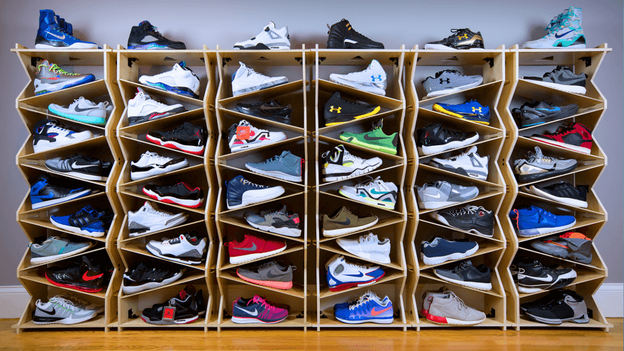 How to Organize, Display & Store Your Sneaker Collection ...