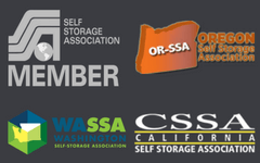 West Coast Self Storage Is Proud To Be A Member Of The WSSA, SSA